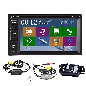 Auto NUEVO 6.2 '' de DVD del coche en el tablero intercambiable Vehšªculo jugador en tiempo real GPS estšŠreo navegaciš®n 2DIN voitures radio stšŠršŠo de coche en el tablero del SD USB Bluet