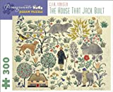 The House That Jack Built: C. F. A. Voysey 300-Piece Jigsaw Puzzle (Pomegranate Kids Jigsaw Puzzle)