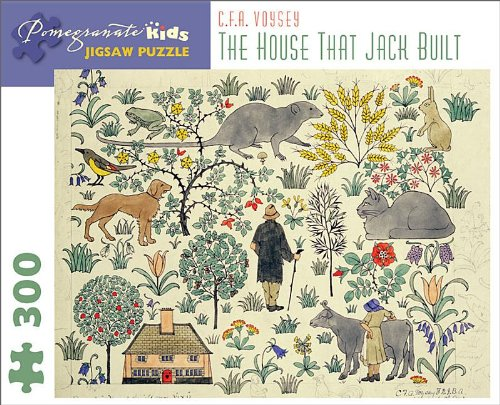 The-House-That-Jack-Built-C-F-A-Voysey-300-Piece-Jigsaw-Puzzle-Pomegranate-Kids-Jigsaw-Puzzle