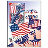 Beistle - 55935 - Patriots Decorating Kit - Pack of 6