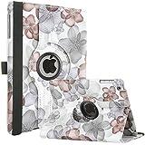 iPad Mini Case, iPad Mini 2/3 Case - ULAK 360 Rotating Magnetic Case for Apple iPad Mini 1/2/3 (Gray)