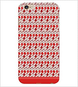 PrintDhaba Pattern D-1642 Back Case Cover for APPLE IPHONE 6 (Multi-Coloured)