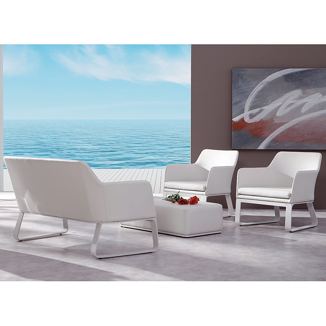 BEST 94140004 4-teilig Loungegruppe Chicago