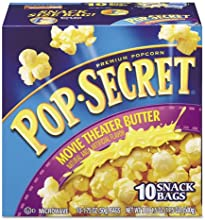 Pop Secret - Microwave Popcorn Movie Theatre Butter 175 oz Bags 10Box 28783 DMi BX