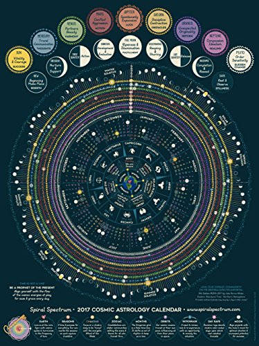 2017 Spiral Spectrum Cosmic Astrology Calendar