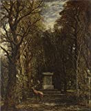 Oil Painting 'John Constable Cenotaph To The Memory Of Sir Joshua Reynolds' 24 x 29 inch / 61 x 74 cm , on High Definition HD canvas prints is for Gifts And Basement, Bath Room And Study Room decor