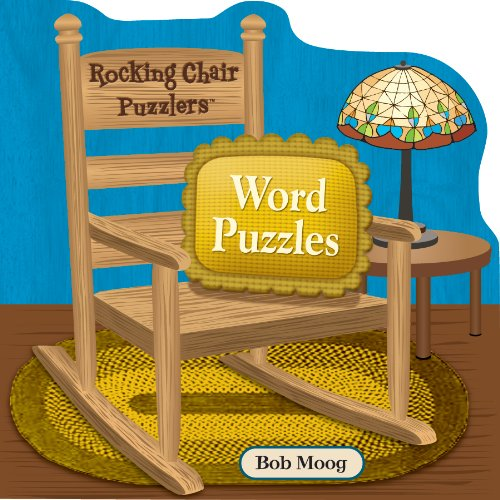 Spinner Books for Adults Rocking Chair Puzzlers Word Puzzles