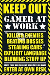Gaming Keep Out Maxi Poster 61x91.5cm