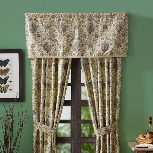 Ralph Lauren Marrakesh Rug Window Valance - 49 x 17 inches - 1