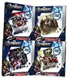 Marvel Avengers Mega 4-Pack Puzzles 100 ...