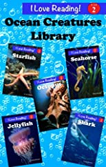 Ocean Creatures Library (A Set of 5 &quot;I Love Reading&quot; Level 2 Readers)
