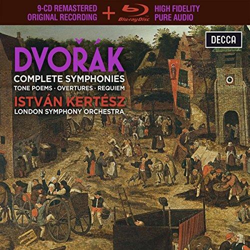 Dvorak: Complete Symphonies,Tone Poems, Overtures & Requiem [9 CD/Blu-Ray Combo] (Dvorak Symphonies Kertesz compare prices)