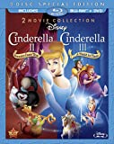 Cinderella II: Dreams Come True & Cinderella III: A Twist In Time (Three-Disc Blu-ray/DVD Combo in Blu-ray Packaging)