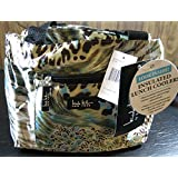 "Nicole Miller of New York Insulated Lunch Cooler-Blue Print 11"" Lunch Tote"