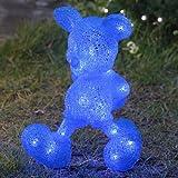 】【ディズニー】 3D スタンド モチーフライト ミッキーマウス ブルー