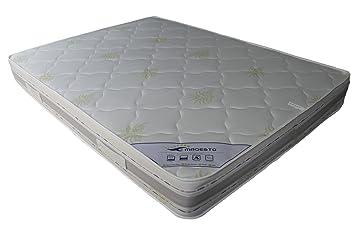 Elite - Matelas Multi Latex 160X200 Haut De Gamme Tissu Aloe Vera Technologie Blue Latex + Thermosoft
