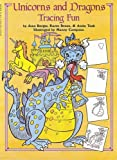 img - for Unicorns And Dragons Tracing Fun book / textbook / text book