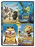 Pack Animales: Las Aventuras De Sammy + Animals United + Maya 3D + Garfield [DVD]