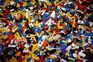 Lego 200 Random Pieces of Good Clean Used Bricks and Parts Bulk Lot from Legos
