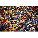 Lego 400 Random Pieces of Good Clean Used Bricks and Parts Bulk Lot