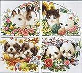 クロスステッチ 刺繍 キット Animals of seasons