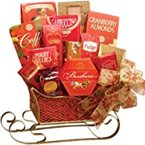 Sweetest Sleigh Gourmet Food Gift Basket