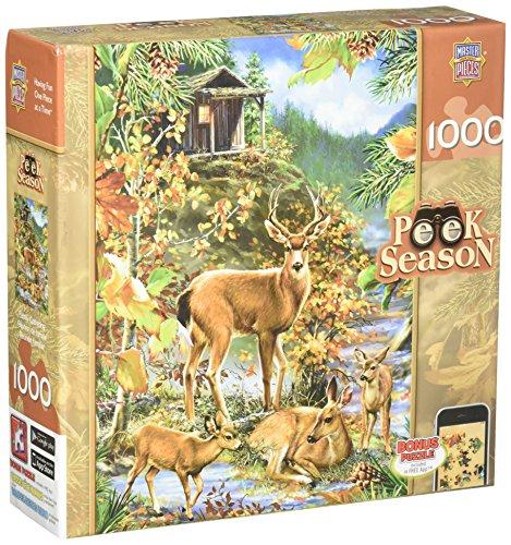 Masterpieces Family Gathering Peek Season Jigsaw Puzzle (1000-Piece)