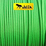 American 550 Paracord NEON GREEN 4mm 100ft