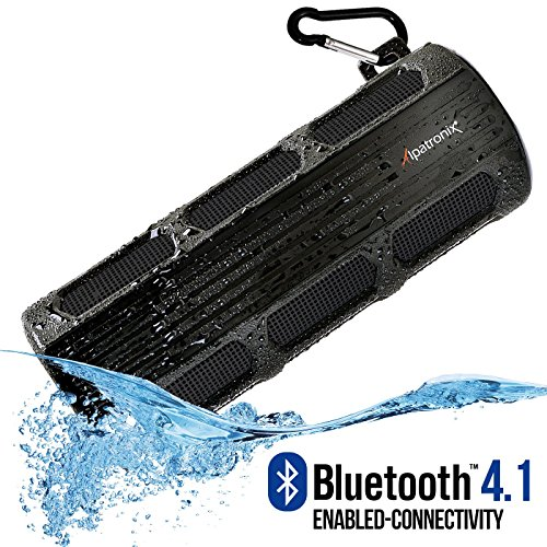 Click to buy Waterproof Bluetooth Speaker, Alpatronix® [AX410: Heavy-Duty & Rugged] Ultra Portable Wireless 12-Watt Stereo Speaker with Shockproof, Dustproof, Splashproof, Water-Resistant Features includes Bluetooth 4.1, Built-In 3000mAh Rechargeable Battery, Enhanced - From only $44.52