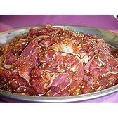 ジンギスカン味漬ラム(仔羊)肉〔豪州産〕500g