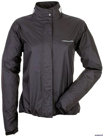 Tucano urbano 761N5 nANO rAIN veste lady-long en fully waterproof, respirant et ultra-compact-noir-taille l