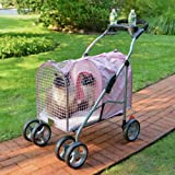 5th Ave Pet Stroller SUV Pink (3 Pack)