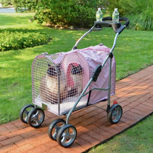 5th Ave Pet Stroller SUV Pink (2 Pack)