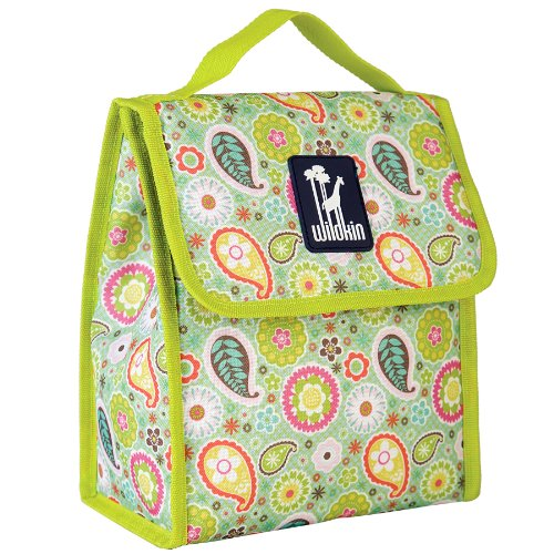 wildkin-kids-green-paisley-lunch-bag-multi-colour