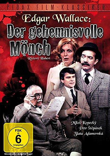 Edgar Wallace: Der geheimnisvolle Mönch - Spannende Edgar Wallace-Verfilmung des Romans DER SCHWARZE ABT (Pidax Film-Klassiker)