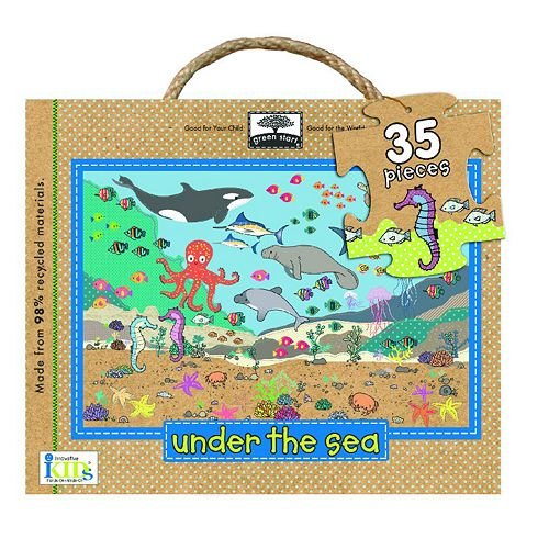 Cheap Fun Innovative Kids Green Start Under the Sea Floor Puzzle (B0055TK9T8)