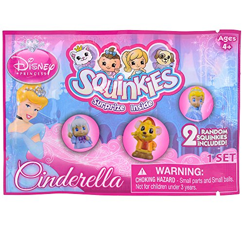 Disney Princess Cinderella Squinkies Surprize 2 Pack