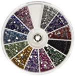 MASH Rhinestones 2400 Piece 12 Color...