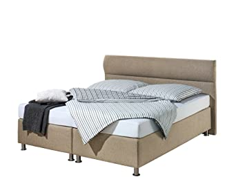 Maintal Betten 242907-3188 Boxspringbett Filipo 180x200, Strukturstoff