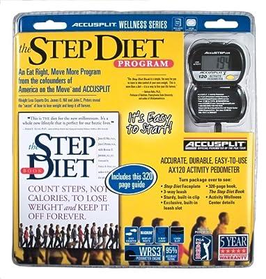 Accusplit Aas440 Step Diet Activity Wellness Program by Accusplit