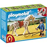 Playmobil 5107 Country Speckled Horse with Stall