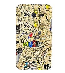 Musical Instruments Design 3D Hard Polycarbonate Designer Back Case Cover for Samsung Galaxy Core 2 G355H :: Samsung Galaxy Core II :: Samsung Galaxy Core 2 Dual