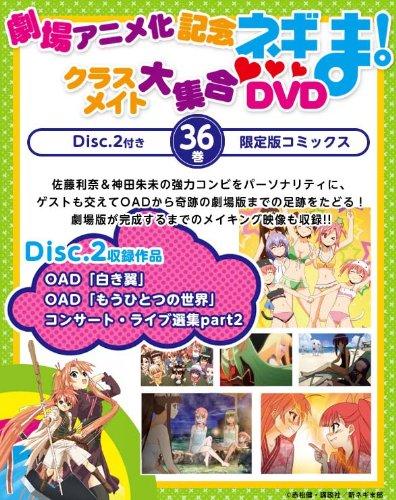 DVD付き初回限定版 魔法先生ネギま! (36) (講談社キャラクターズA)
