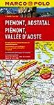 MARCO POLO Karte Piemont, Aostatal (M...