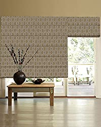 PRESTO BAZAAR 1 Piece Polyester Abstract Blind - Green