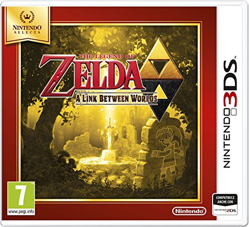 The Legend of Zelda: A Link Between Worlds - Nintendo Selects - Nintendo 3DS