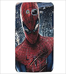 PrintDhaba Spiderman D-5186 Back Case Cover for SAMSUNG GALAXY J7 (Multi-Coloured)