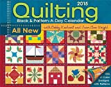 img - for Quilting Block & Pattern-a-Day 2015 Calendar book / textbook / text book