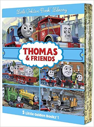 Thomas & Friends Little Golden Book Library (Thomas & Friends) written by Rev. W. Awdry