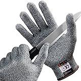 [Schnittschutzhandschuhe] FREETOO Hochleistung Schnittschutz Handschuhe Leicht 5 Handschutz Ebene
